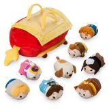Beauty and the Beast Tsum Tsum Plush Set - Small Tote - 10 - Plus 8 Minis - 3 1/2