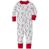 Snoopy Be Mine Baby Sleepers In Pure Organic Cotton