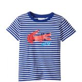 Small Short Sleeve Whimsy Croc Stripe Tee (Toddler/Little Kids/Big Kids)