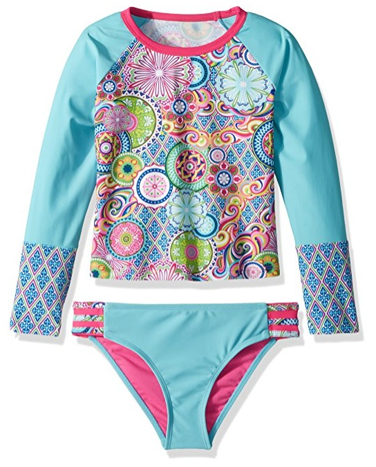 Best Seller Turquoise and Red Paisley Fast-Dry Polyester Swimming Shorts BELSIRE MILANO Best Prices Sale Online Discount Reliable YaHI1p