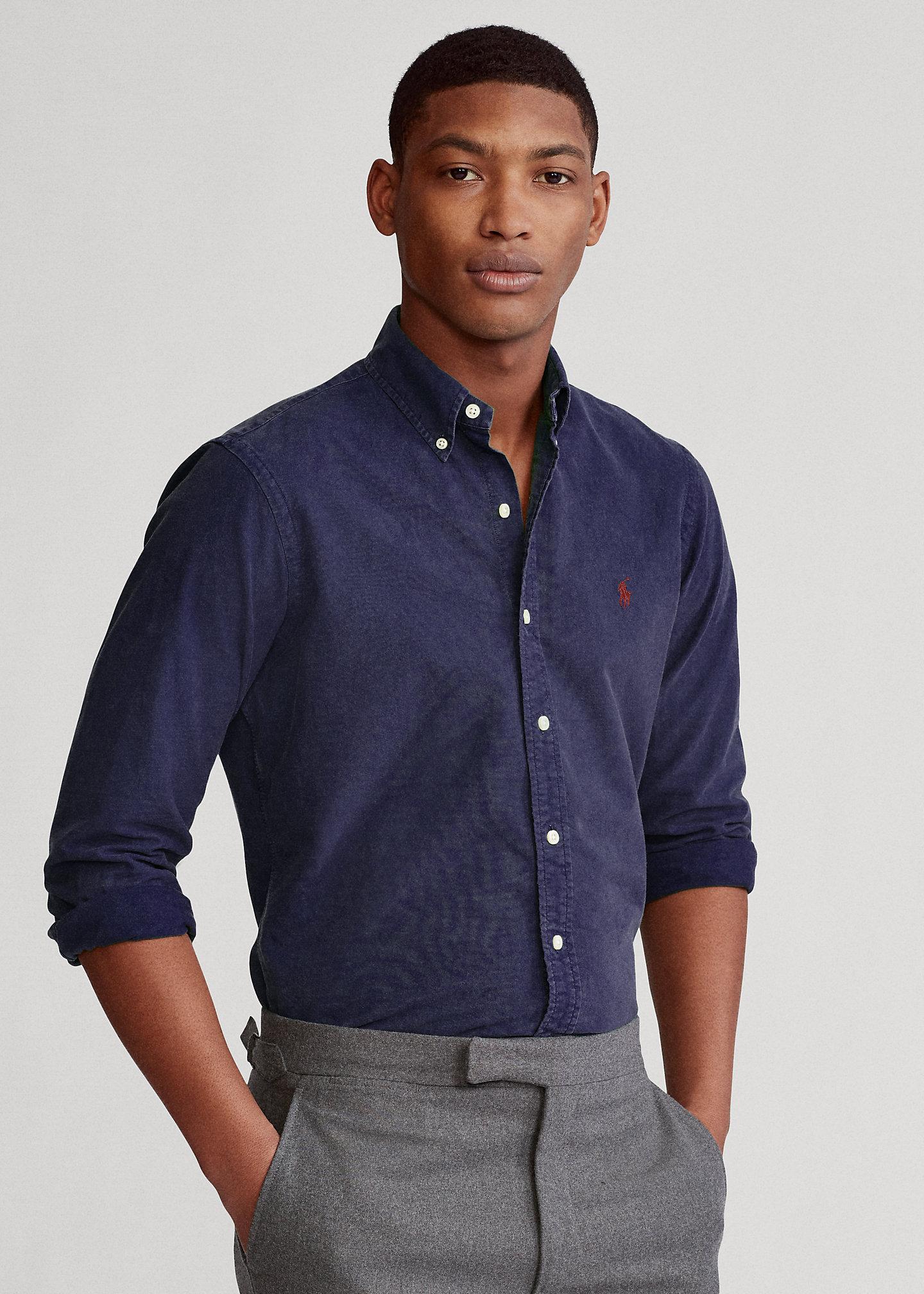 POLO RALPH LAUREN Garment-Dyed Oxford Shirt - All Fits