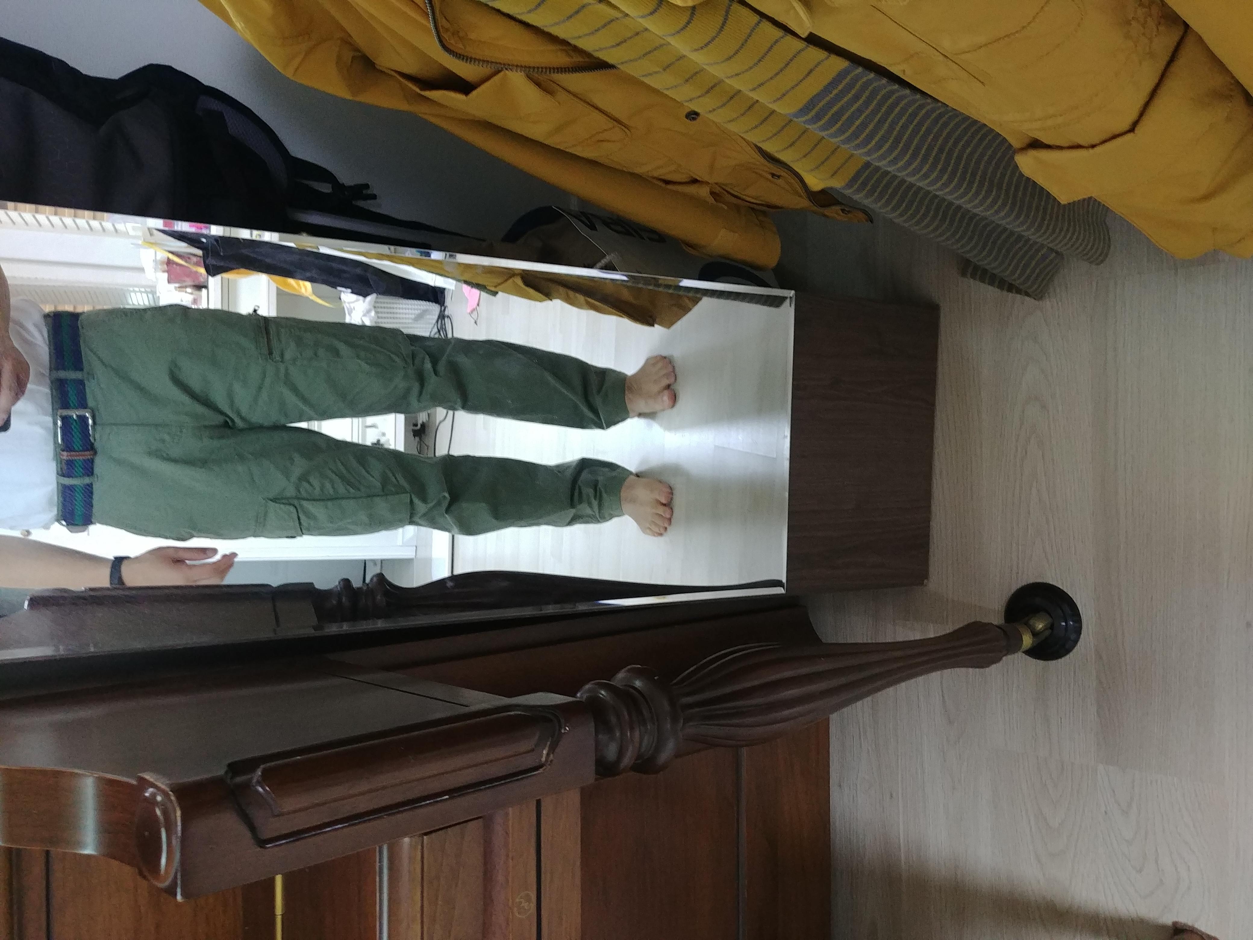 Tony Perotti Sandals Evan Brown Cokelat Tua 40 Size W 31w L 32l
